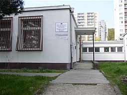 Budova Krajského strediska ÚNSS Bratislava